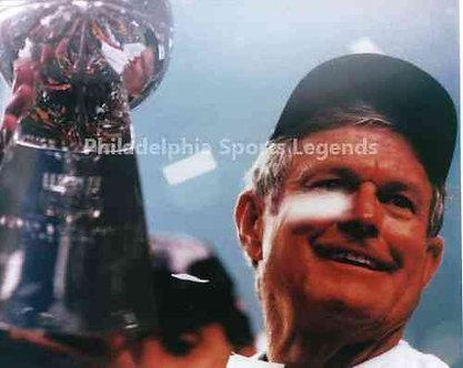 Dick Vermeil St Louis Rams Super Bowl XXXIV 8x10 celebration