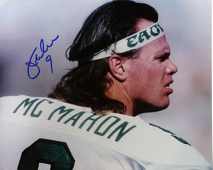 Jim McMahon Philadelphia Eagles autographed 8x10