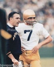 JOE THEISMANN ARA PARSEGHIAN NOTRE DAME FIGHTING IRISH 8X10 CLASSIC