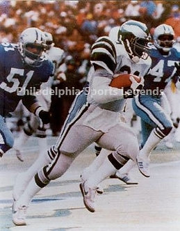 Wilbert Montgomery Philadelphia Eagles 1980 Touchdown Run vs Dallas Cowboys