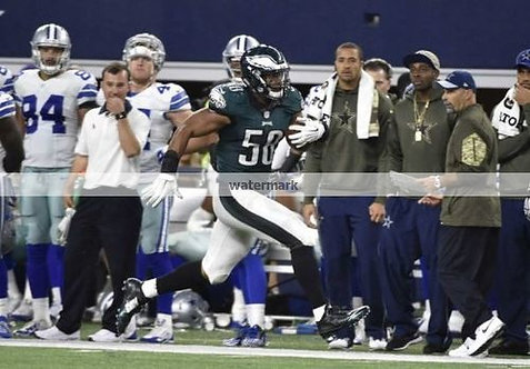 Jordan Hicks Eagles Touchdown INT vs Dallas Photo