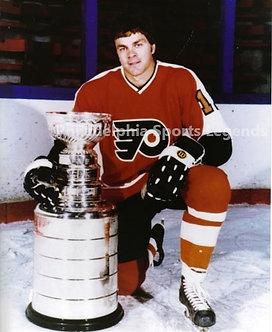 Gary Dornhoefer Philadelphia Flyers Stanley Cup 8x10 photo Broad Street Bullies