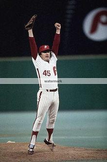 Tug McGraw 1980 Phillies World Series Celebration photo