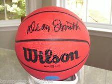 North Carolina Tar Heels DEAN SMITH Signed Autographed Basketball COA! 3
