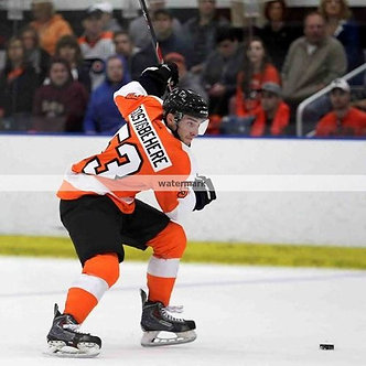 SHAYNE GOSTISBEHERE PHILADELPHIA FLYERS COLOR 8X10 ACTION PHOTO THE GHOST!