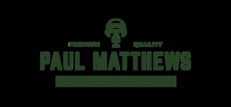 PAul Matthews Voice Over Artist