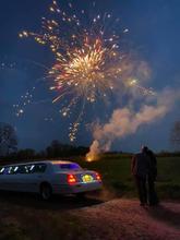Surprise Birthday Fireworks