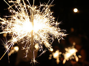 wedding sparklers, wedding fireworks, bo