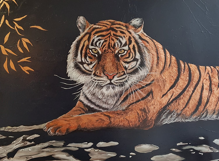 Amber Eyes of the Tiger