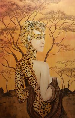 Esprit de leopard - sold