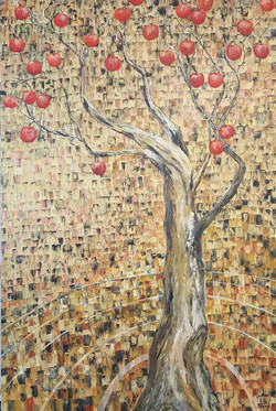 Tree mosaic magic - sold