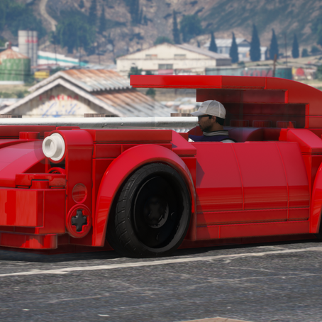 Lego Porsche 911 Turbo для GTA 5