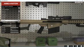 Barrett M83A3 для GTA 5