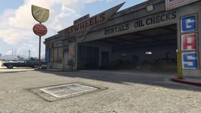 Flywheel's garage для GTA 5