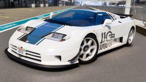 Bugatti EB110 Super Sport для GTA 5