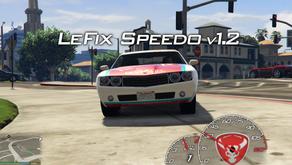 LeFix Спидометр для GTA 5