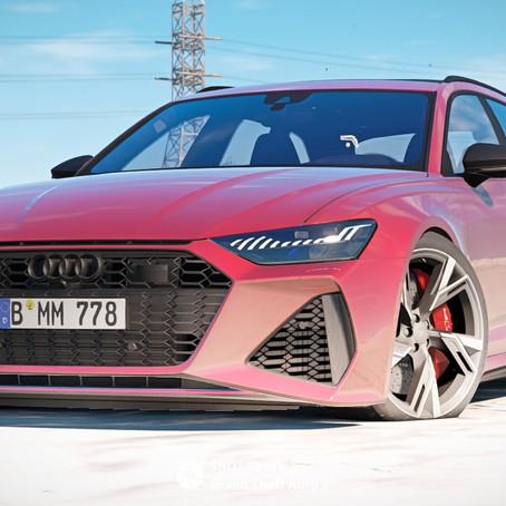 Audi RS6 (C8) для GTA 5