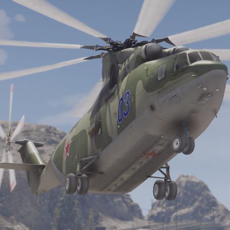 Ми-26 для GTA 5