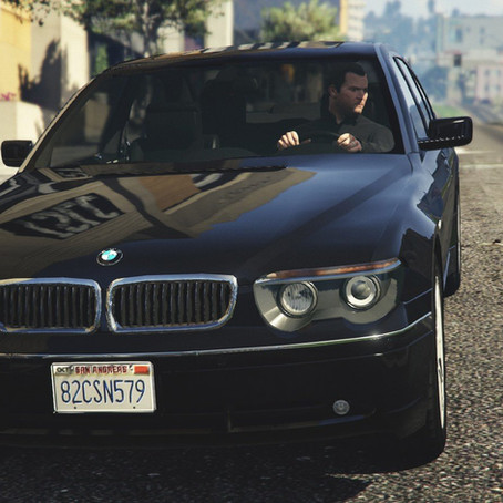 BMW 760i (e65) для GTA 5