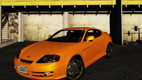Hyundai Tiburon Coupe V6 для GTA 5