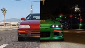 Honda CRX SiR 1991 для GTA 5