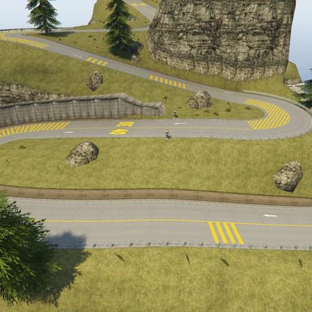 Shrine Route Drift для GTA 5