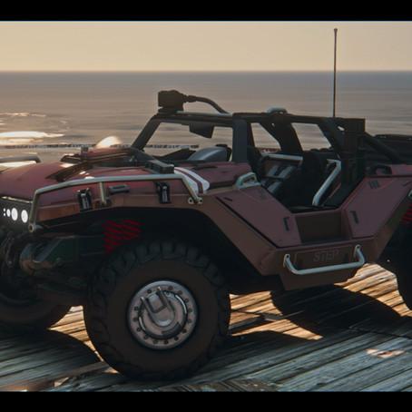 M12S Warthog CST из Halo для GTA 5