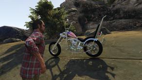 """Мотоцикл из фильма """"Беспечный ездок"""" для GTA 5"""