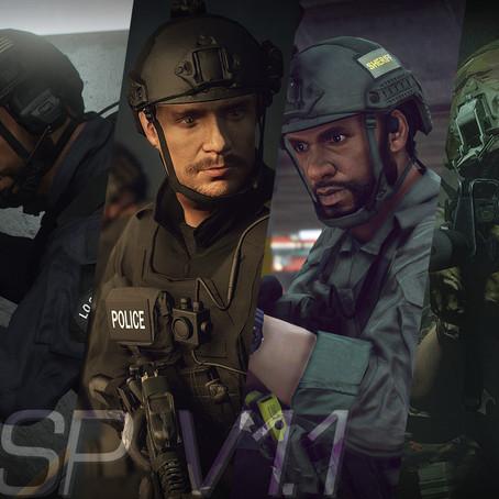 Generic SWAT Ped для GTA 5
