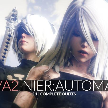 2B & A2 из Nier Automata для GTA 5