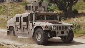 M1114 Бронированный Humvee для GTA 5