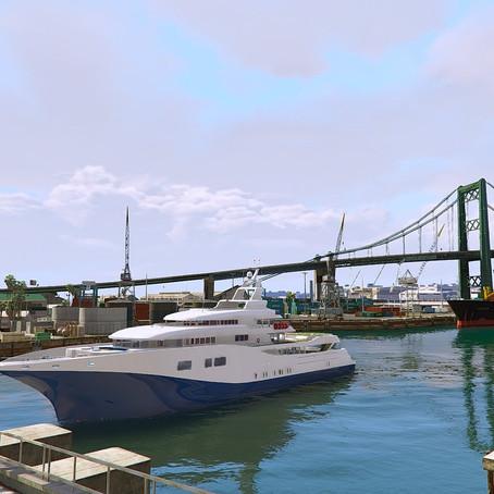 Управляемая яхта из GTA 4: TBoGT для GTA 5