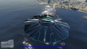 НЛО с Форта Занкудо для GTA 5