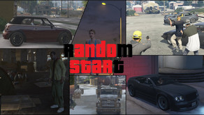 Случайный старт для GTA 5