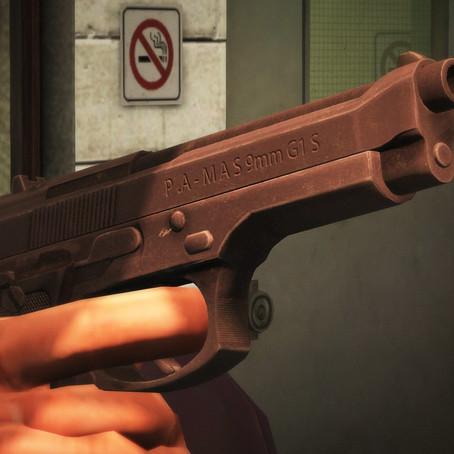 Пистолет Pamas G1 для GTA 5