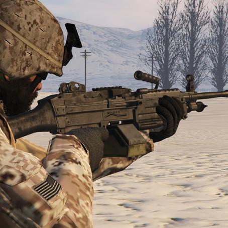 M249 SAW для GTA 5