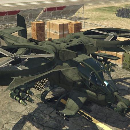 AT-99 Scorpion (из фильма Аватар) для GTA 5