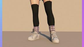 Кроссовки с носками для женского персонажа для GTA 5