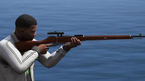 Винтовка Мосина для GTA 5