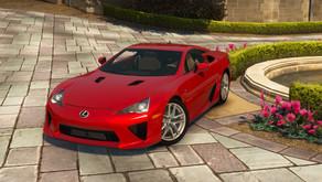 Lexus LFA 2010 для GTA 5