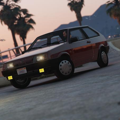ВАЗ-2108 Самара для GTA 5