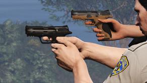 Пистолет Hawk & Little D&P 9 для GTA 5