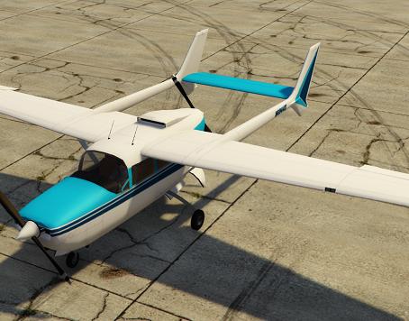 Cessna 337 SkyMaster для GTA 5