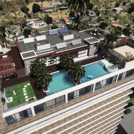 Пентхаус на крыше Eclipse Tower для GTA 5