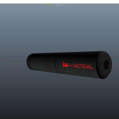 Тактический глушитель HK для GTA 5