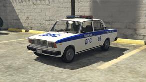 Полицейский ВАЗ-2105/2107 для GTA 5