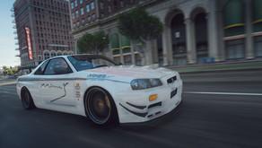 1999 Nissan Skyline GT-R (BNR34) для GTA 5