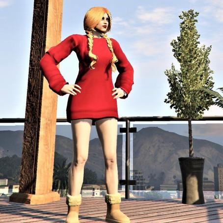 Свитер для женского персонажа GTA 5