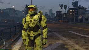 Master Chief из Fortnite для GTA 5