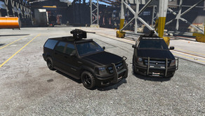Albany Cavalcade Black Ops для GTA 5
